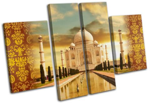 Taj Mahal Golden Landmarks - 13-0019(00B)-MP17-LO